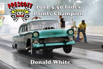 2012 Outlaw points champions DonaldWhite