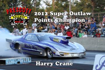 2012 Outlaw points champions HarryCrane