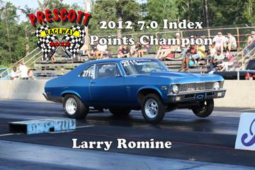 2012 Outlaw points champions LarryRomine