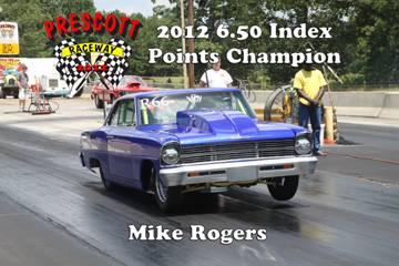2012 Outlaw points champions MikeRogers