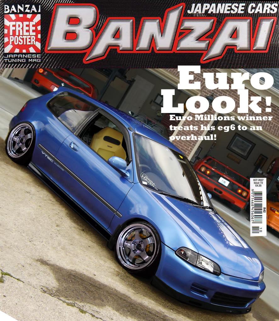 Photoshop round 8 SiR_ITR's egsex! Banzai-feature