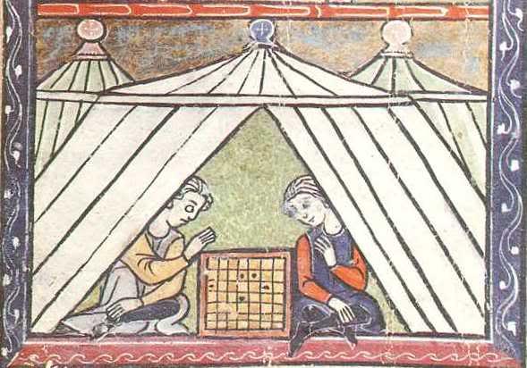 Construcción de un Pabellón Medieval octogonal para 6 plazas Anonimoingles