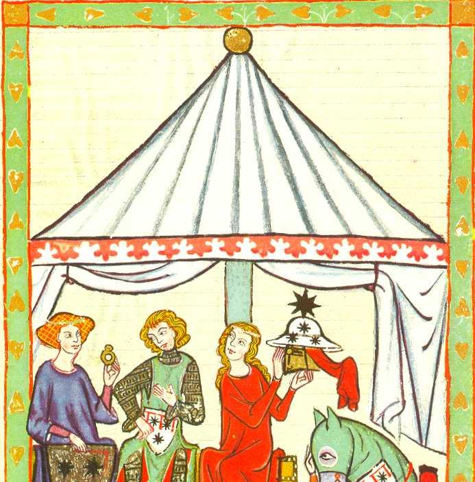 Construcción de un Pabellón Medieval octogonal para 6 plazas Codexmanese