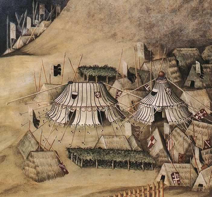 Construcción de un Pabellón Medieval octogonal para 6 plazas Martini1