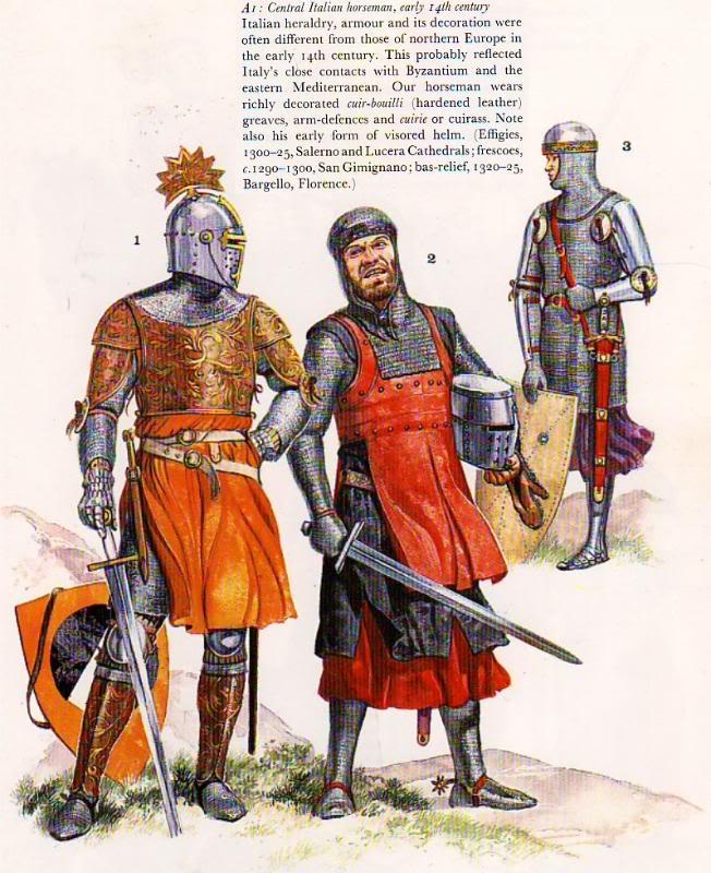 BRIGANDINA siglo XIII Sanmauricio