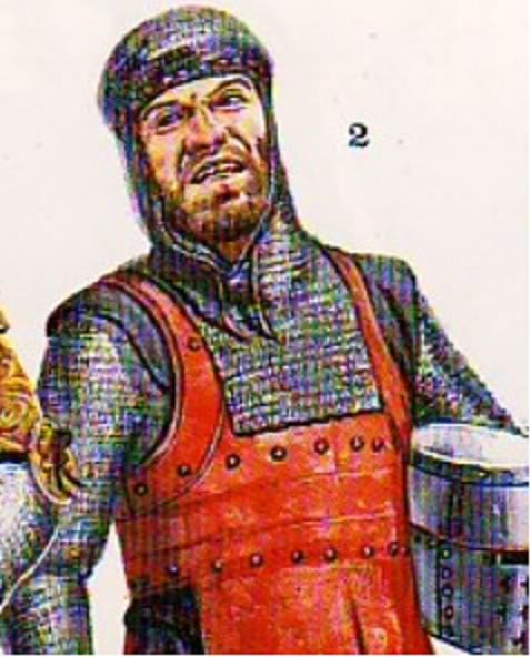 BRIGANDINA siglo XIII Sanmauricioblanco