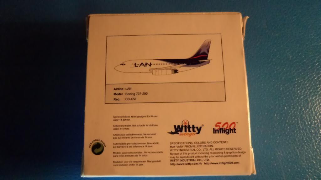 Inflight500 Boeing 737-200 CC-CVI DSC01010