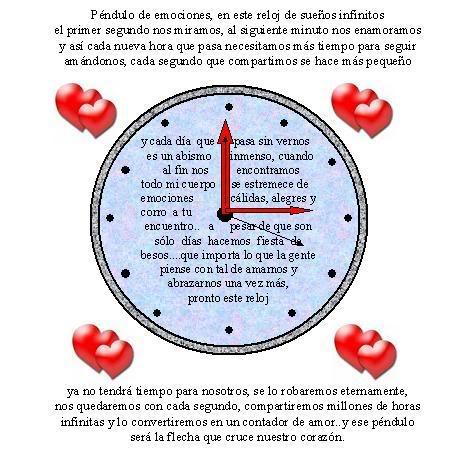 Poemas Reloj