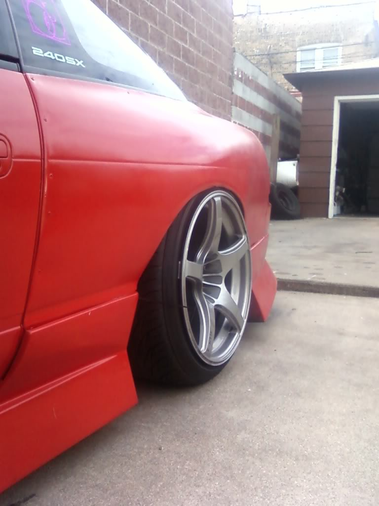 FS: Enkei RP03 18x9.0 +22 18x10+22 WITH TIRES 0909101548473