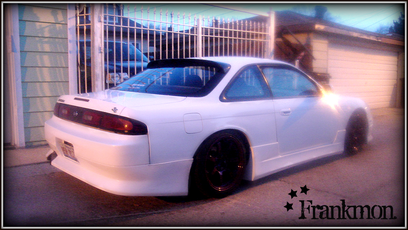 The final squad car, Frankmon's zenki. FrankmonIV