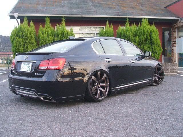 Stanced anyone? Lexus-gs300-gtr