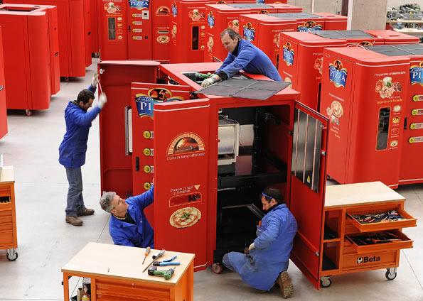 Maquina automática de fazer pizza. 019830389-FMM00