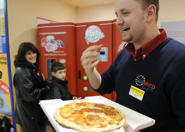 Maquina automática de fazer pizza. 019830391-FMM00