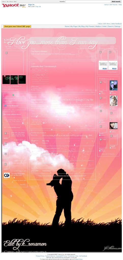 Tổng hợp theme tình yêu Kiss-1