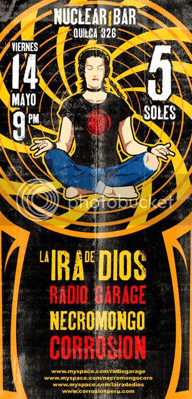 La Ira de Dios y Radio Garage - Hoy en Nuclear Bar! 14-04chiqui-1