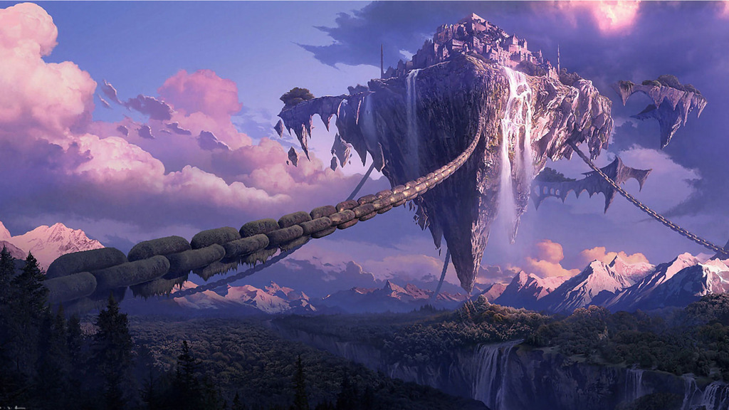 Lugares Spiritual Forest Chrono_trigger_kingdom_of_zeal_city_in_the_sky_cityscapes_floating_islands_awesome_zpsbho3gdvj