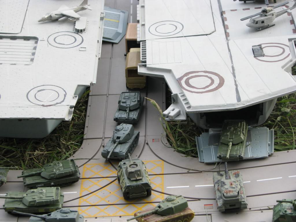 preparando ejercicios de desembarco y acciones conjuntas... IMG_2365