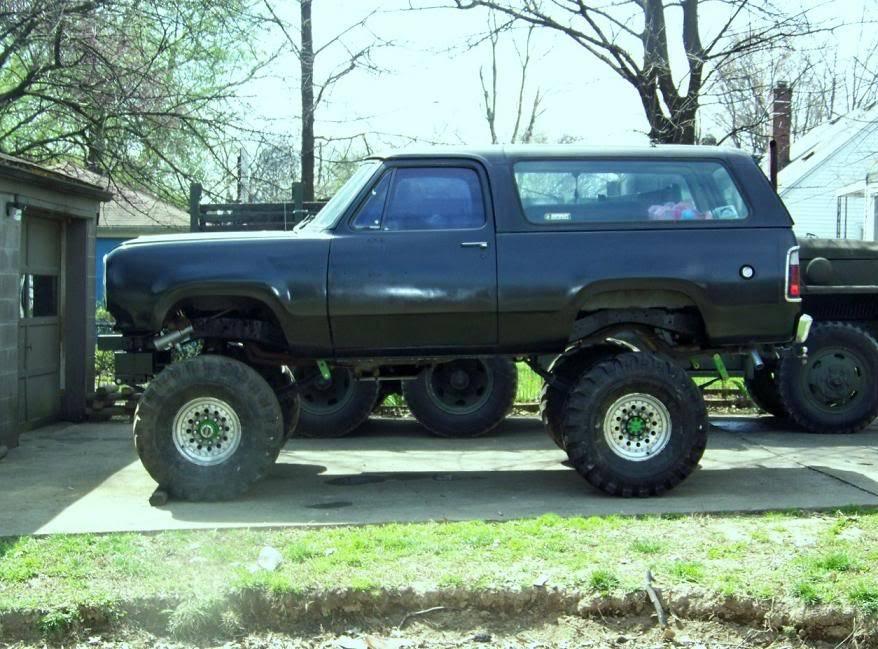 1978 Dodge Ramcharger build - Swamp Donkey Onall4-1