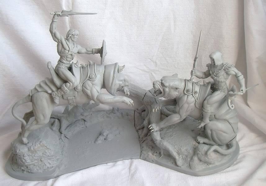 Nimajneb sculpture ! WIP74