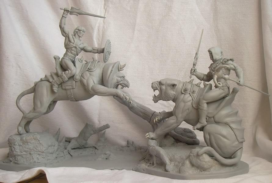 Nimajneb sculpture ! WIP75