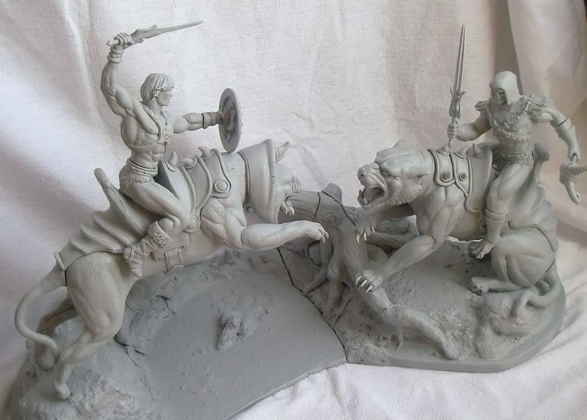 Nimajneb sculpture ! WIP76