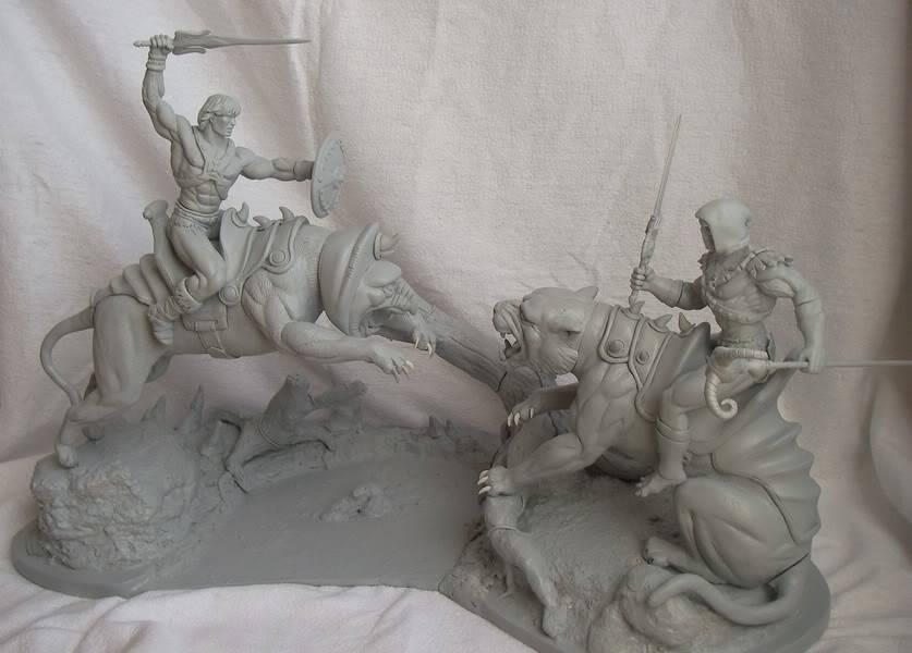 Nimajneb sculpture ! WIP77