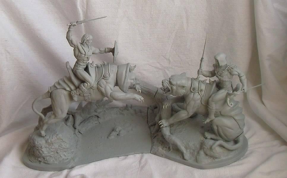 Nimajneb sculpture ! WIP79