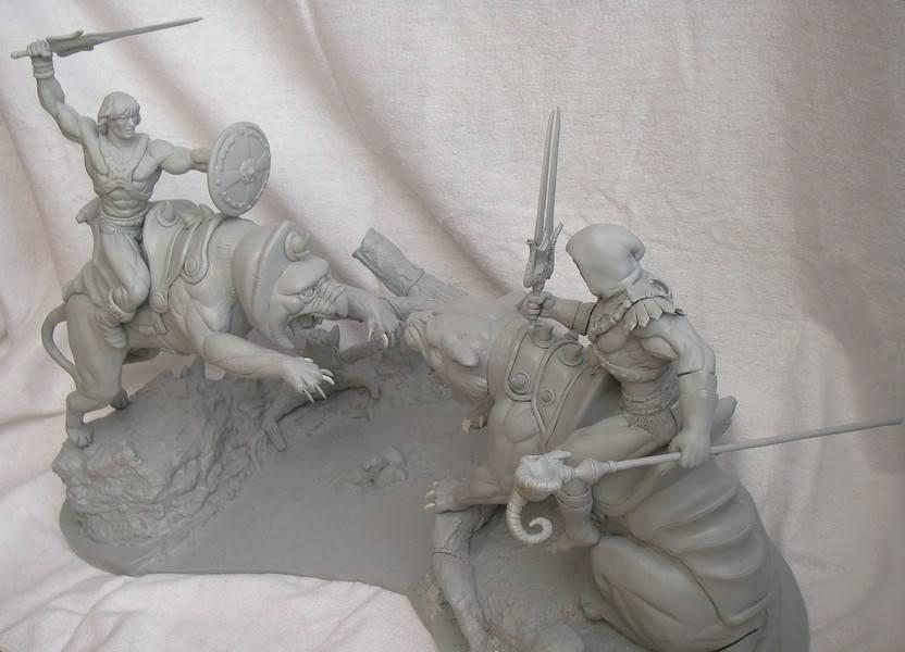 Nimajneb sculpture ! WIP80