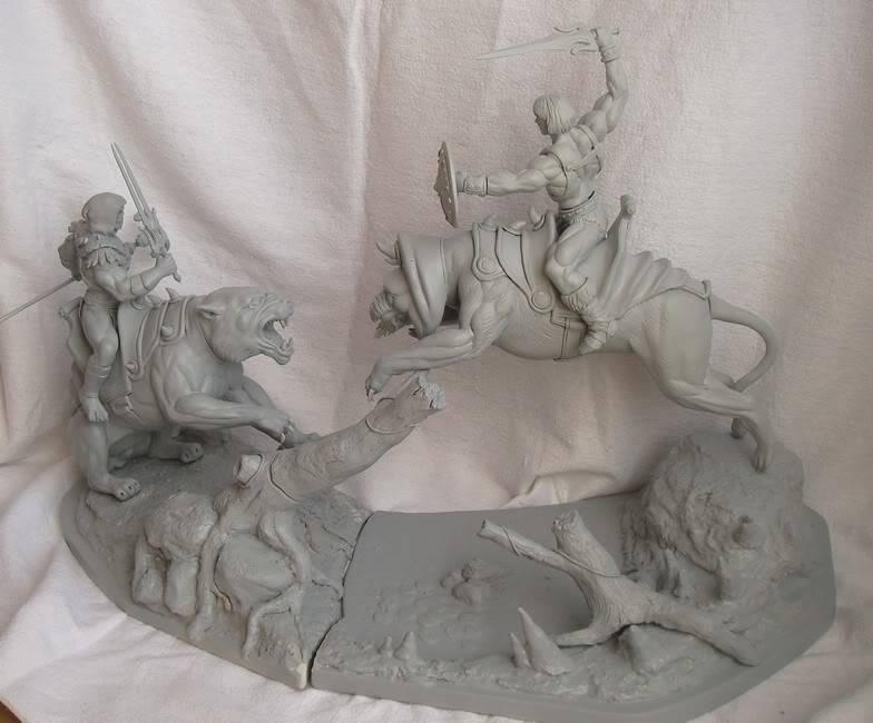 Nimajneb sculpture ! WIP82