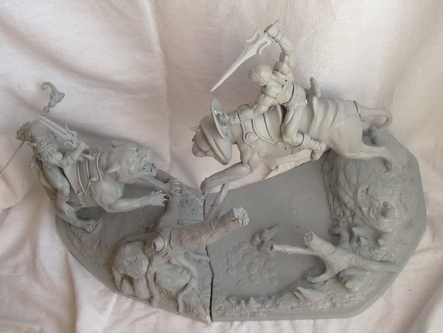 Nimajneb sculpture ! WIP84