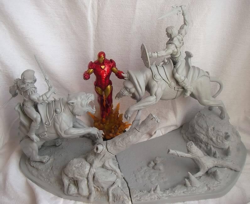 Nimajneb sculpture ! WIP85