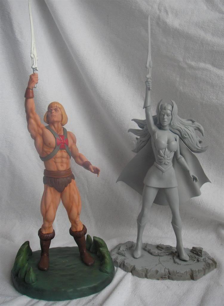 Nimajneb sculpture ! SHE-RA10