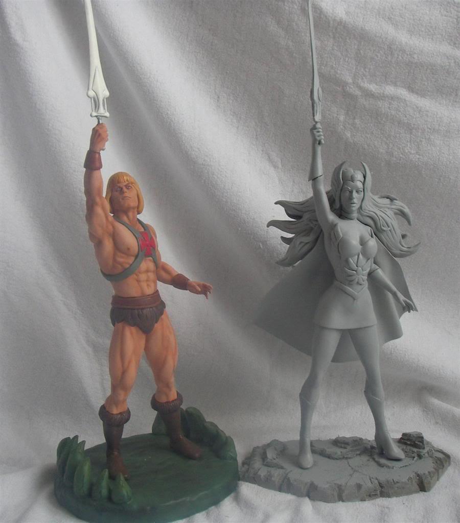 Nimajneb sculpture ! SHE-RA12