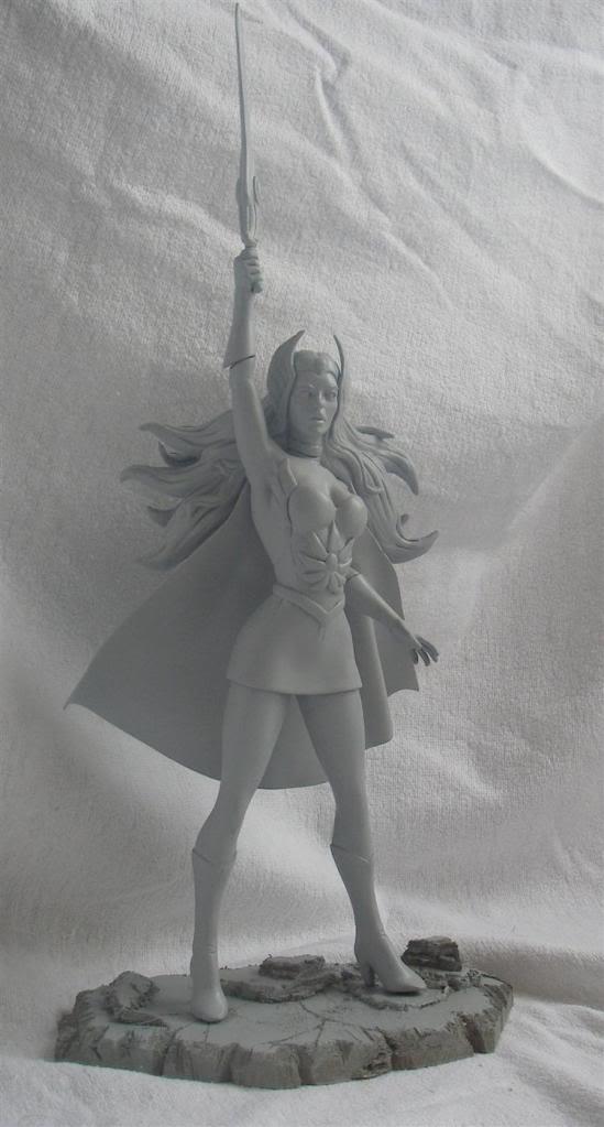 Nimajneb sculpture ! SHE-RA2