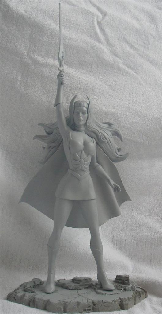Nimajneb sculpture ! SHE-RA3