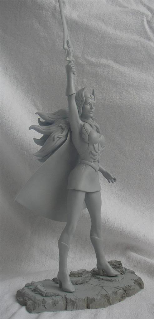Nimajneb sculpture ! SHE-RA8