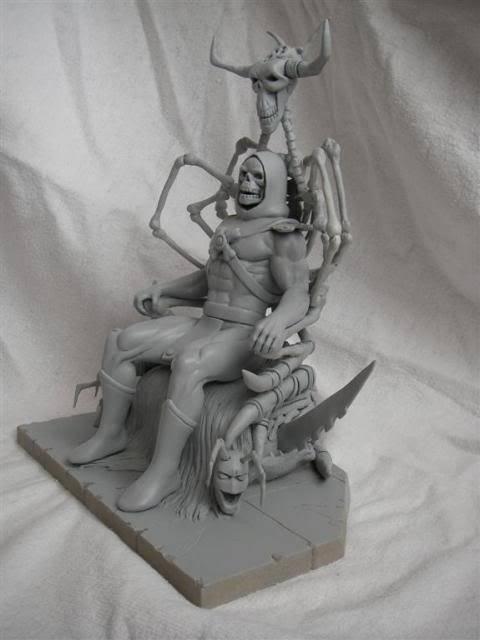 Nimajneb sculpture ! WIP12