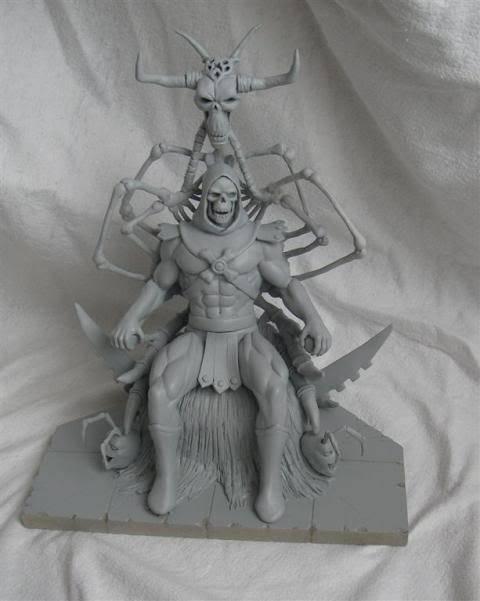Nimajneb sculpture ! WIP16