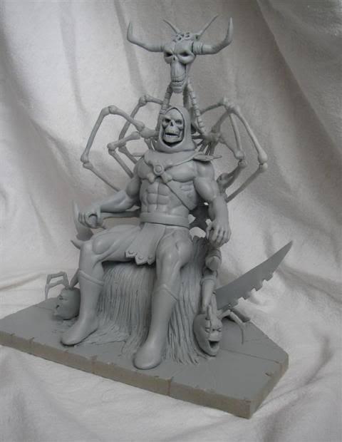 Nimajneb sculpture ! WIP18