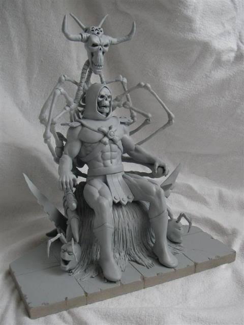 Nimajneb sculpture ! WIP19