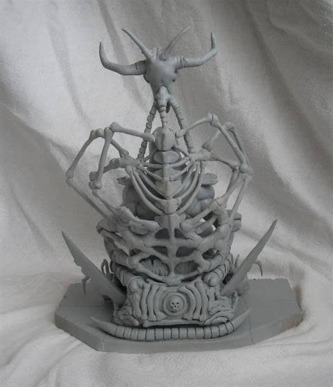 Nimajneb sculpture ! WIP20