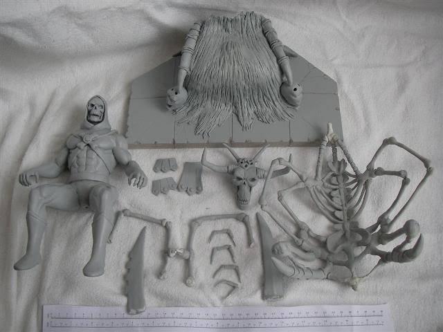 Nimajneb sculpture ! WIP21