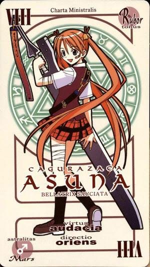 Asuna Kagurazaka  Asunacard