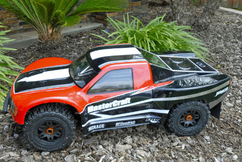 Woodster Wide SCT bodyshell for HPI Baja 5T/5SC Woodstersct5