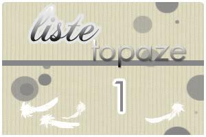 Dame Hasard va vous attribuer votre Plume  - Page 4 Topaze1