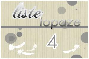 Dame Hasard va vous attribuer votre Plume  - Page 31 Topaze4