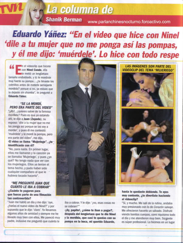 EDUARDO YAÑEZ HABLA DEL VIDEO QUE HIZO CON NINEL CONDE EDUARDO1copia