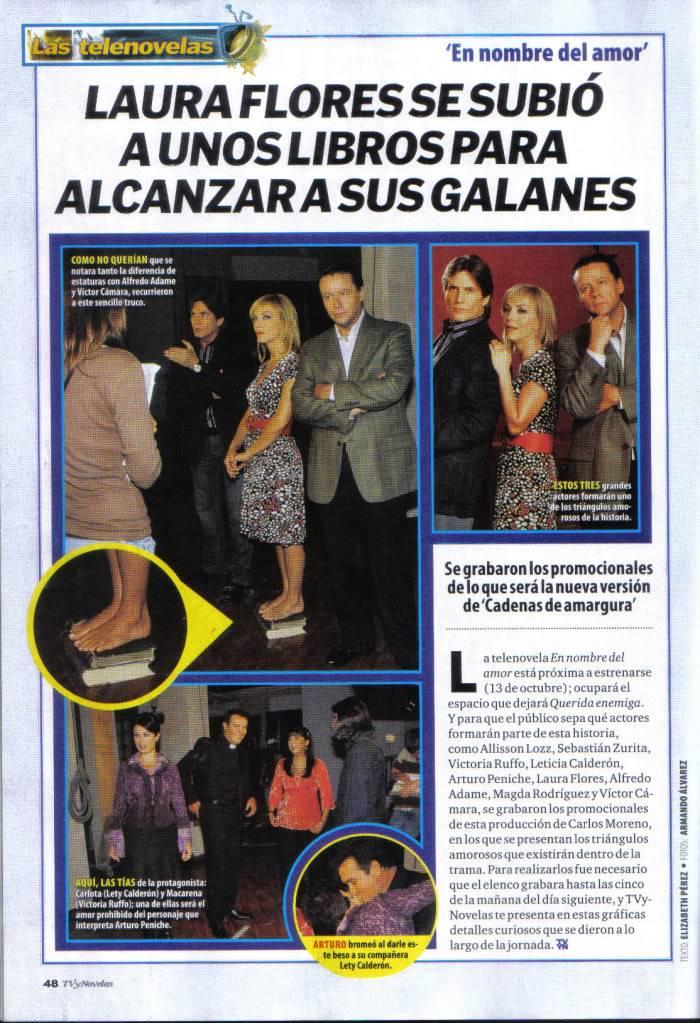 TVyNOVELAS 2008-2009 Reportaje3