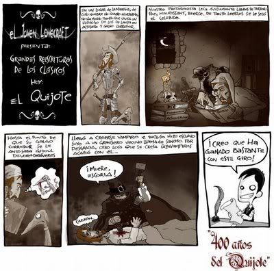 El Joven Lovecraft (comic) Lovie33castc