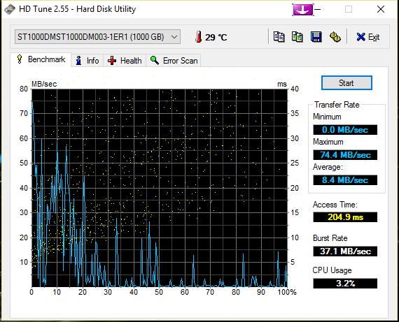 bruit disque dur en chargement de jeux et lag HDTune_Benchmark_ST1000DMST1000DM003-1ER1_zpsdzseuqbj